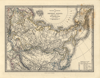 Russia 1876 antique historical rare maps, royalty free, clip art