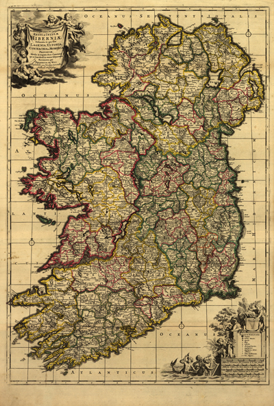 European antique historical rare maps royalty free clip art ireland 1700s map vintage historical map europe great britain royalty free gumiabroncs Image collections