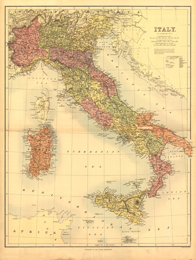 European antique historical rare maps royalty free clip art italy 1890 antique vintage rare map europe mediteranean sea royalty free clipart gumiabroncs