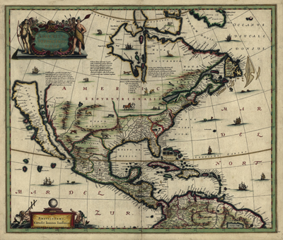 Antique Historical maps, 1652, Old Map, Old Print, Vintage, heritage