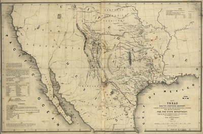 Usa state antique historical royalty free clip art maps texas map 1844 usa america state antique rare map royalty free gumiabroncs Image collections