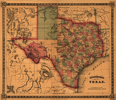 Free Map Of Texas.Usa State Antique Historical Royalty Free Clip Art Maps