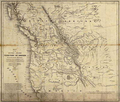 United States Antique Historical Royalty Free Clip Art Maps - Old map of the us