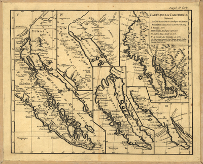 United States Antique Historical Royalty Free Clip Art Maps - Map of western us 1770