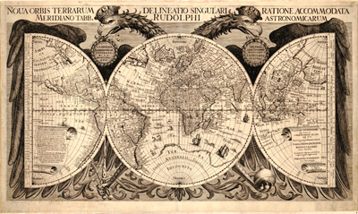 World Projections, Antique Historical, Royalty Free, Clip Art Maps